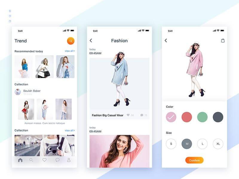 Fashion & Clothing App Development