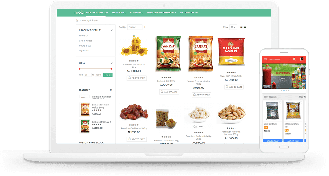 Grocery Stores App Development