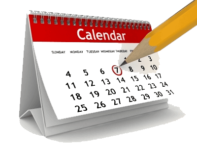 scheduling upcoming events