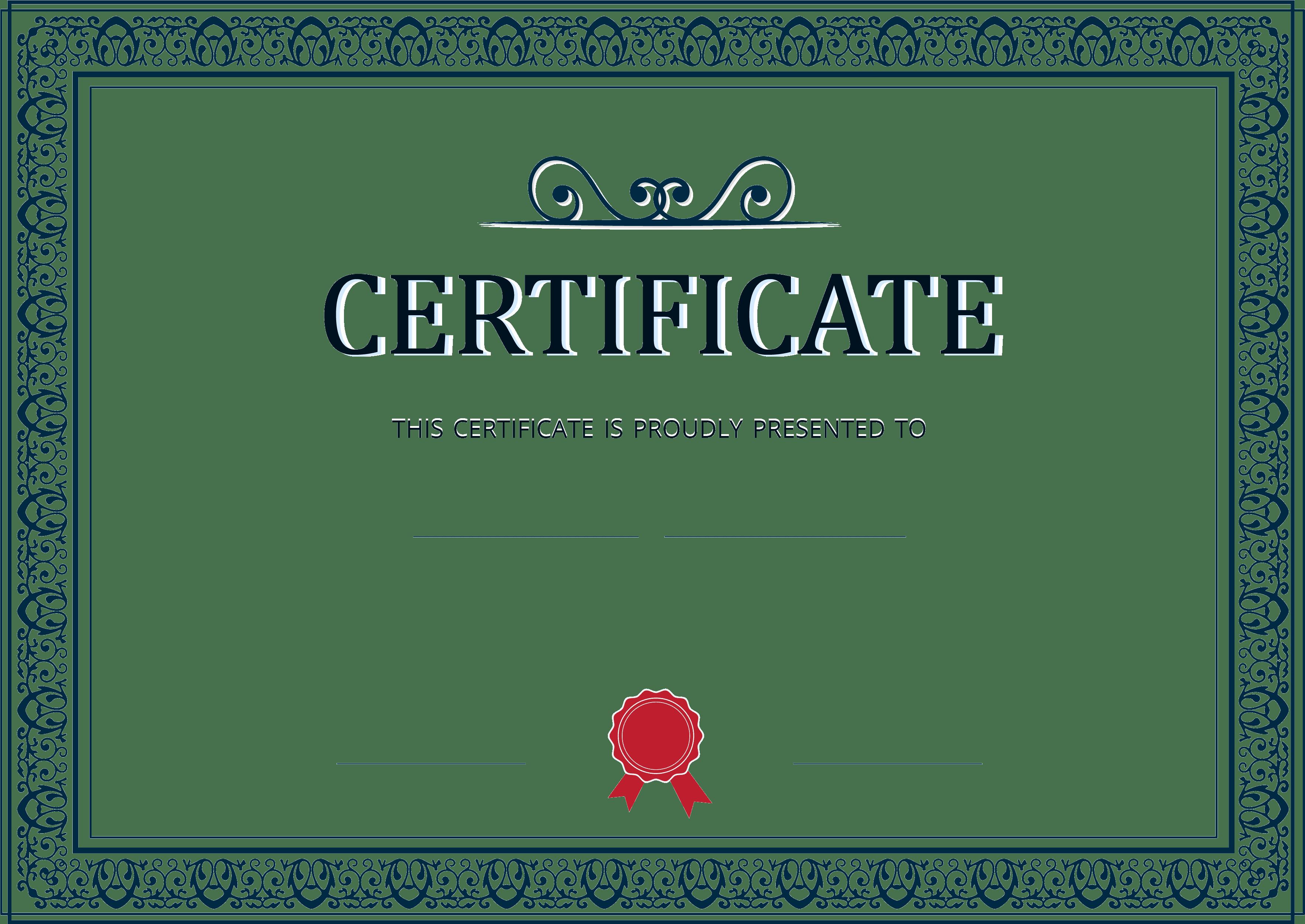 generation of certificates
