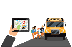 real-time school bus updates